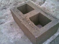 Строительный блок из своей опалубки ТИСЭ