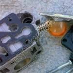 Винт регулировки топливного жиклёра карбюратора М215-040.