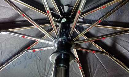 Стойки зонтика для ремонта пластиковой шестерни