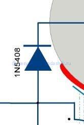 Заряд накопительного конденсатора в зажигании бензопилы