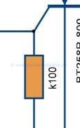 Разряд конденсатора в зажигании бензопилы