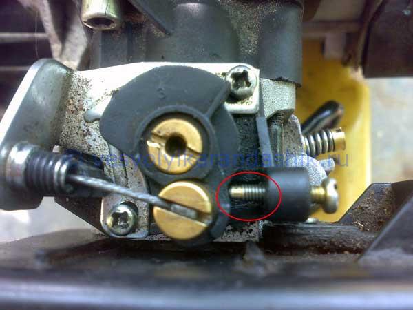 Перегрев двигателя бензотриммера