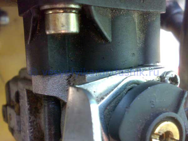 Лопнули кольца на двигателе бензотриммера